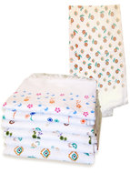 Praktische en fijne handdoek van 100 % katoen in dunne wafelstructuur. Badtextiel bij Heinde & van Verre