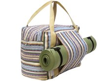 tas yoga/sport/weekendtas streep multicolor